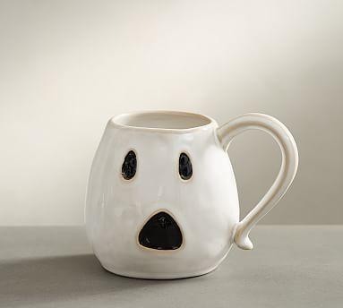 95cf66df97b Figural Ghost Mug, Set of 4 #potterybarn | Holiday Decor | Pottery ...