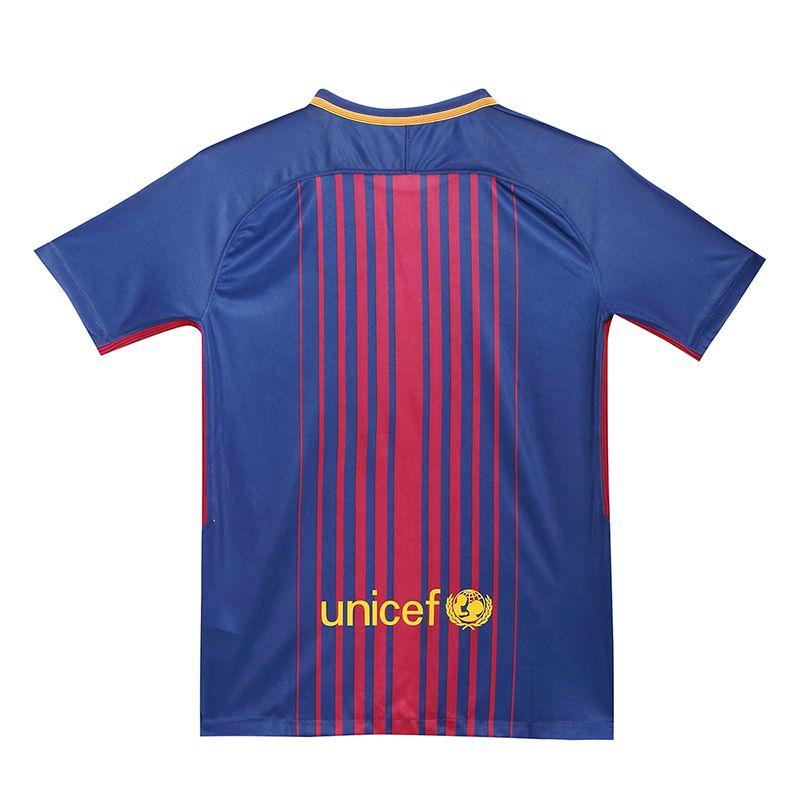 95c652cf6 17-18  barcelona Home  soccer  jersey  Shirt