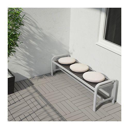 FRÖSÖN/DUVHOLMEN Cuscino per sedia da esterno beige