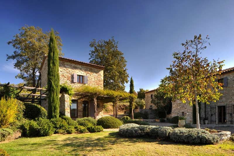 Casa Del Leone Is The Name Of This Rustic Home Located In Castello Di Reschio A Private Estate That Covers Acres Of Umbrian Countrys
