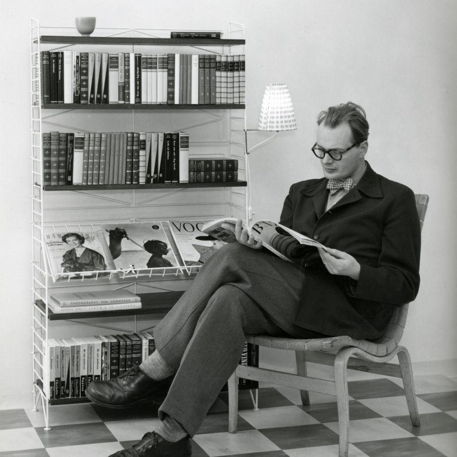Bücherregal Klassisch designklassiker das string shelf bücherregale klassisch und
