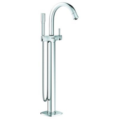 Grohe Grandera Floor Standing Tub Faucet With Shower Wand In