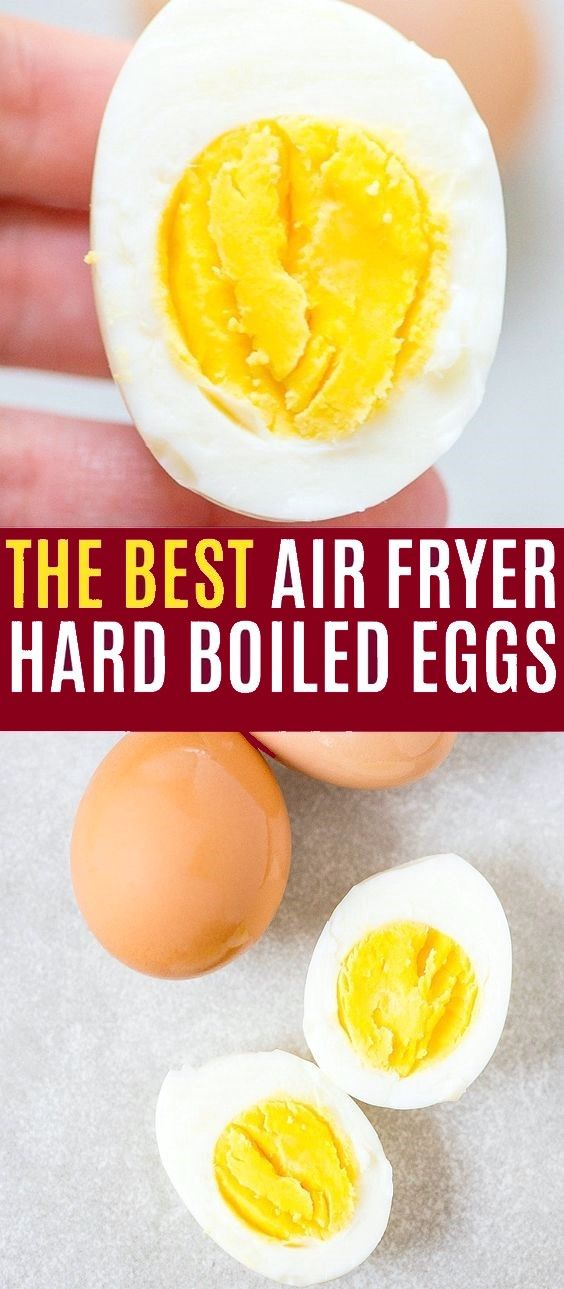 Air Fryer Hard Boiled Eggs in 2020 | Air fryer dinner
