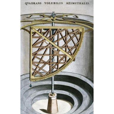 Quandrans Volubilis Azimuthalis by Joan Blaeu Antiquity Art Print