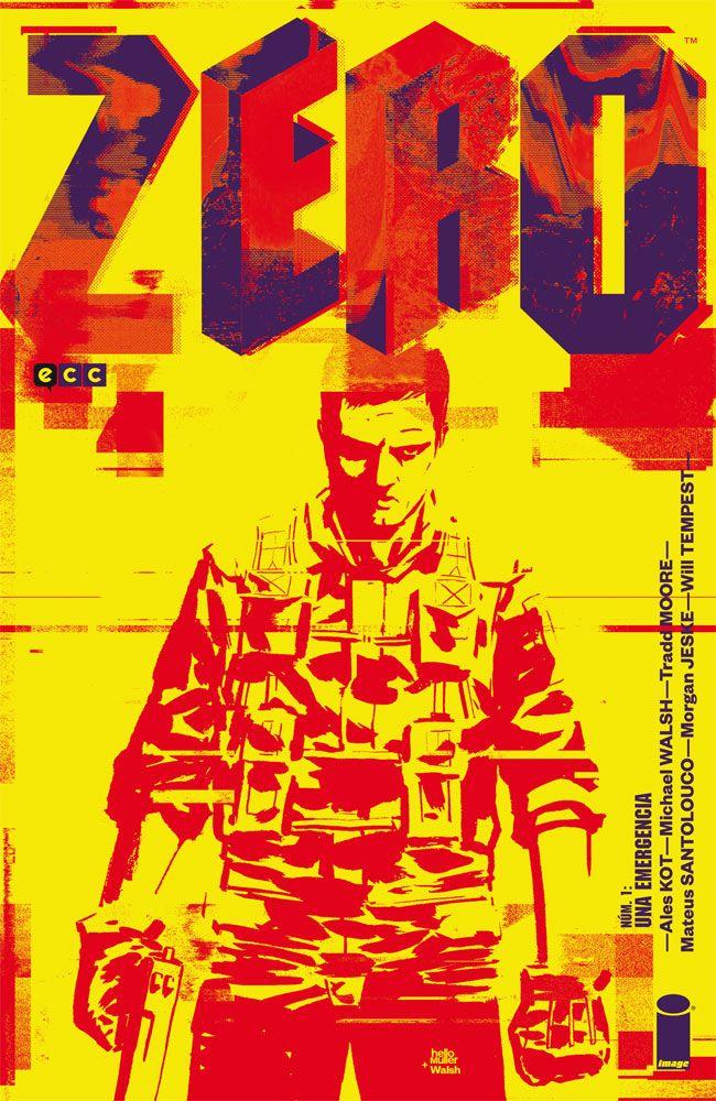 Zero Ales Kot Image Comics Portada ECC Ediciones