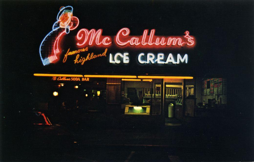 McCallum\'s Ice Cream 1825 Solano Berkeley,California | McCallum ...