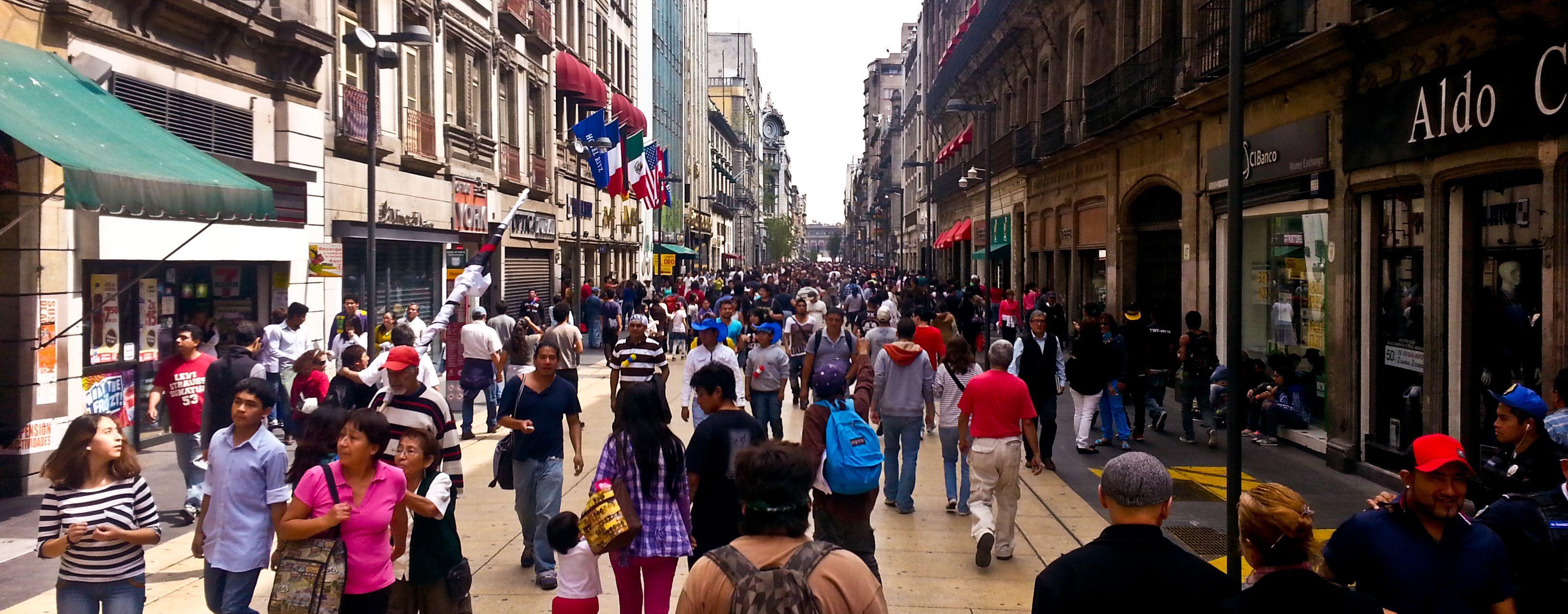 Mexico City Mexico Mexico City Pedestrian City
