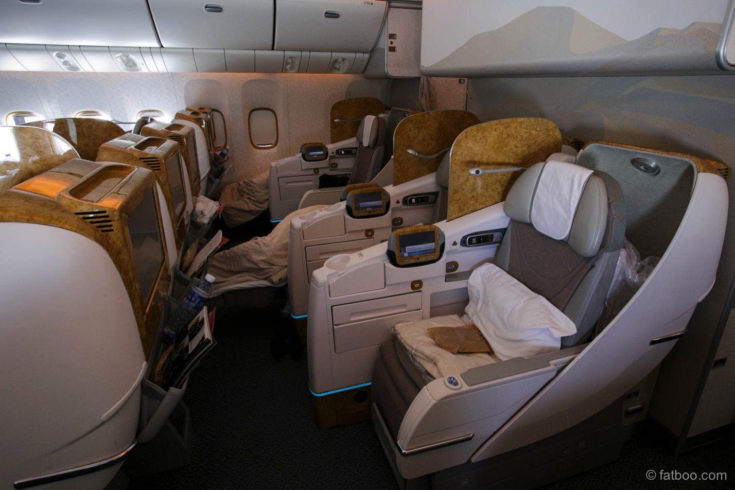 Emirates 777300ER Business Class Business class