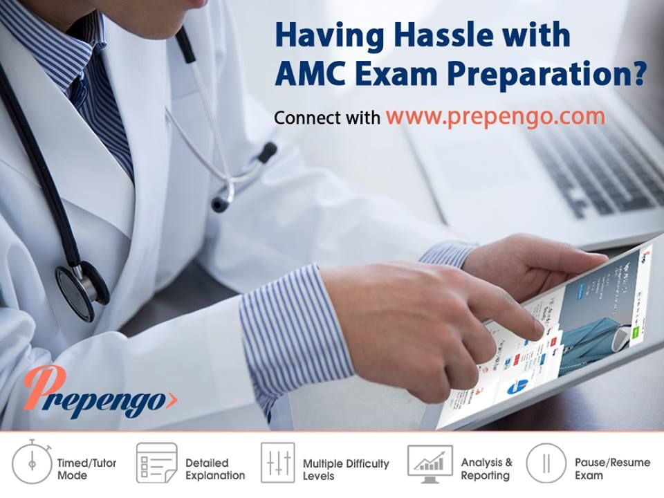 AMC Exams Fever??? Prepengo have the remedy. Subscribe to