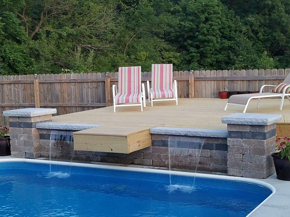 PVC Swim Platform Need one for the pool! Pvc pool, Diy