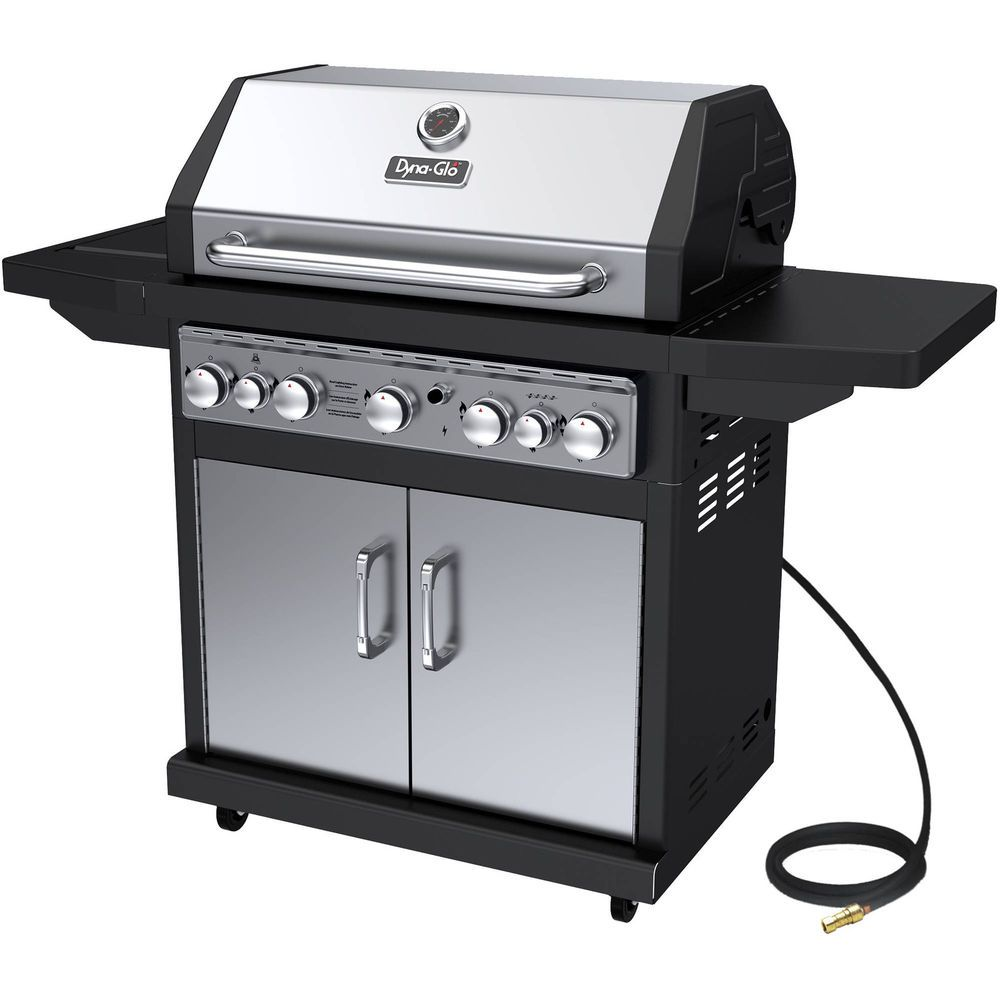 Bbq Barbeque Grill Natural Gas Grill 5 Burner Stainless Outdoor Patio Deck New Bbqbarbequegrill Gas Grill Best Gas Grills Natural Gas Grill