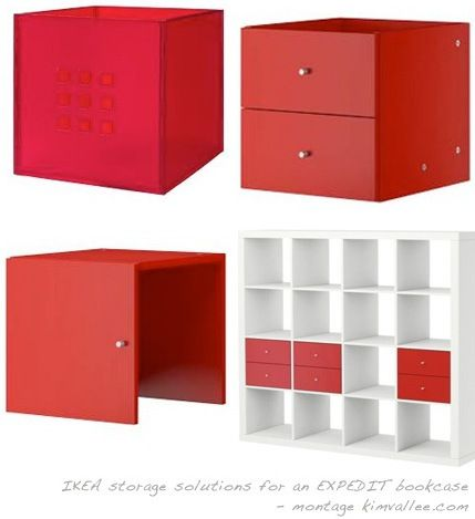 expedit bookcase door insert drawers and boxes & expedit bookcase door insert drawers and boxes | Products I Love ...