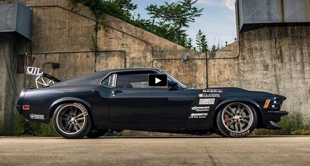 STRIKING 1970 MUSTANG CUSTOM BY TUCCI HOT RODS  Car Dream cars