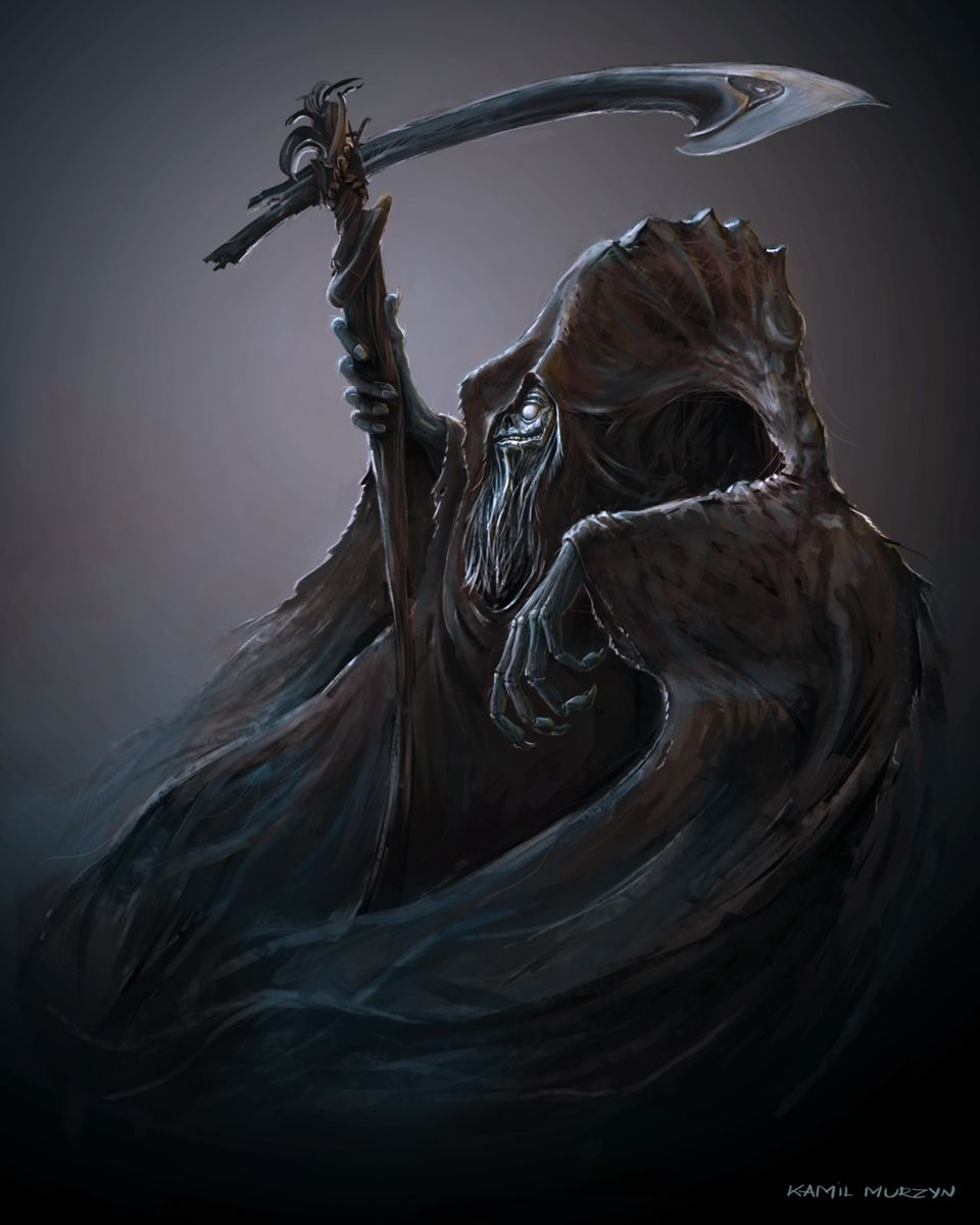 Happy Grim Reaper - Kamil Murzyn Arts - CG Gallery