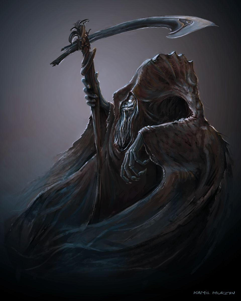 Happy Grim Reaper - Kamil Murzyn Arts Cg