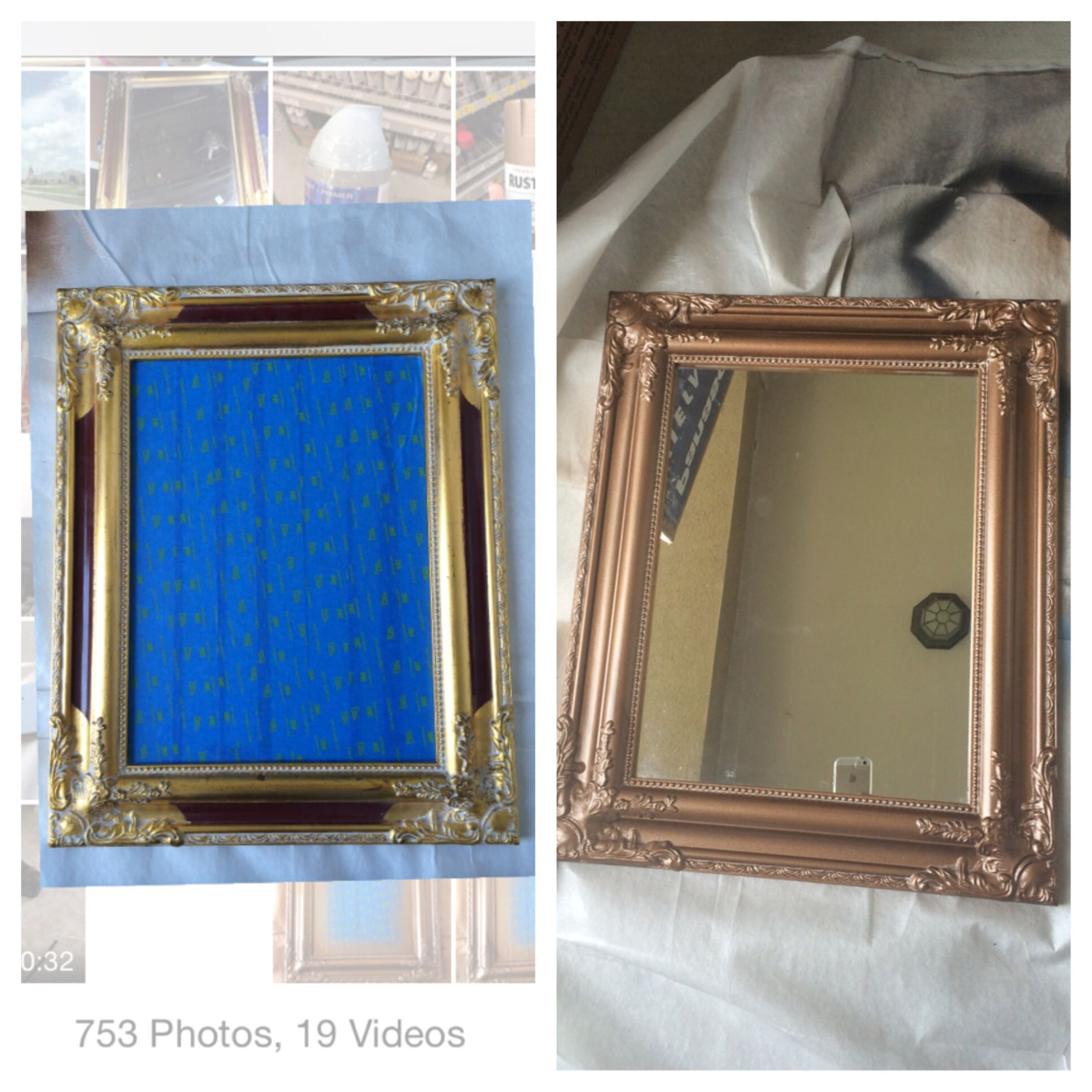 Elegant Mirror I Picked Up At Goodwill For Only $599