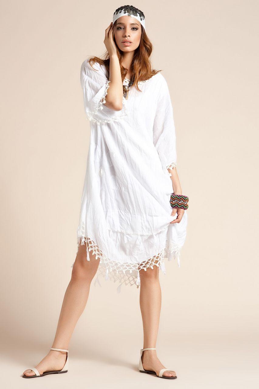 Otantik Bodrum Elbise Beyaz Elbise Moda Stilleri Kiyafet