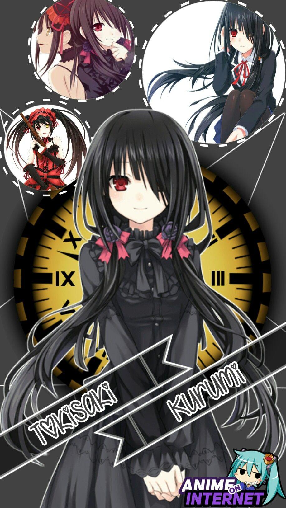 Wallpaper tokisaki kurumi Anime, Yandere anime, Anime