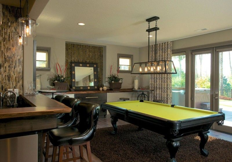 49 Cool Pool Table Lights to Illuminate Your Game Room images