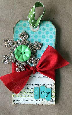 Cute Christmas tag
