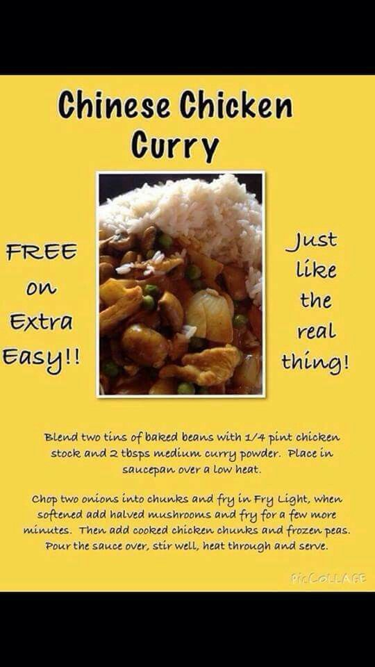 Chinese Chicken Curry Slimming World Curry Slimming