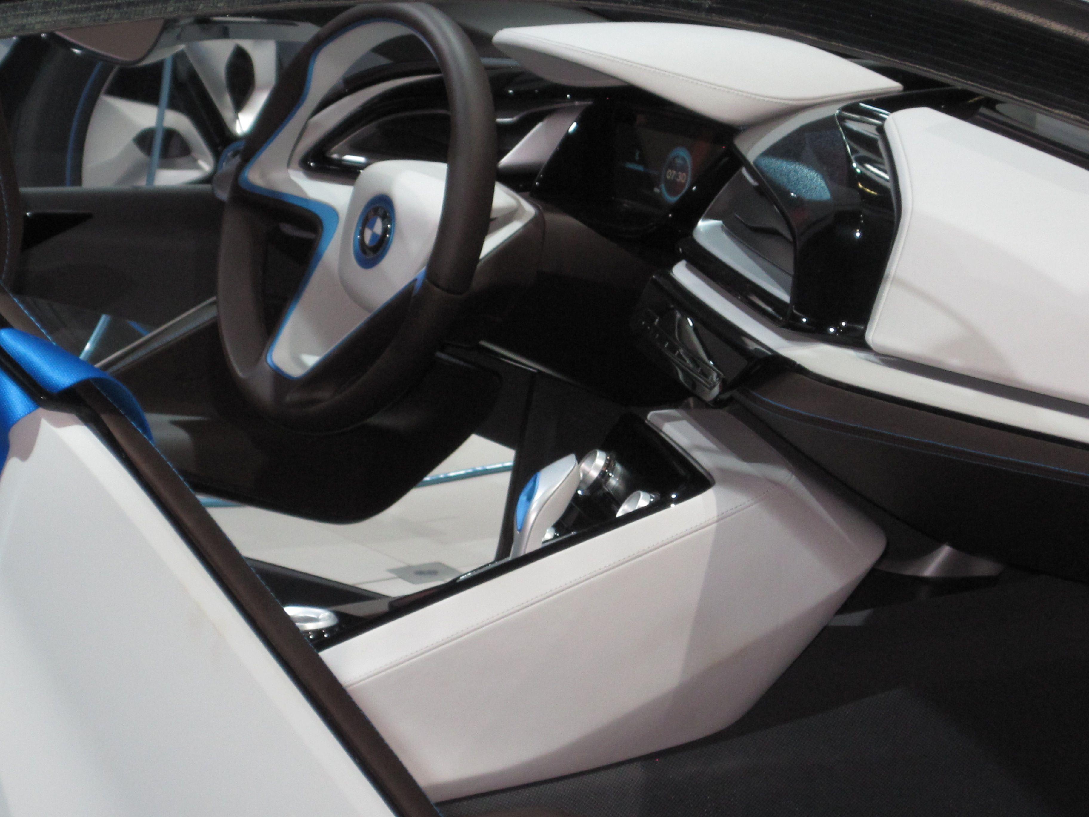 BMW Concept electric car Bmw concept, Concept cars