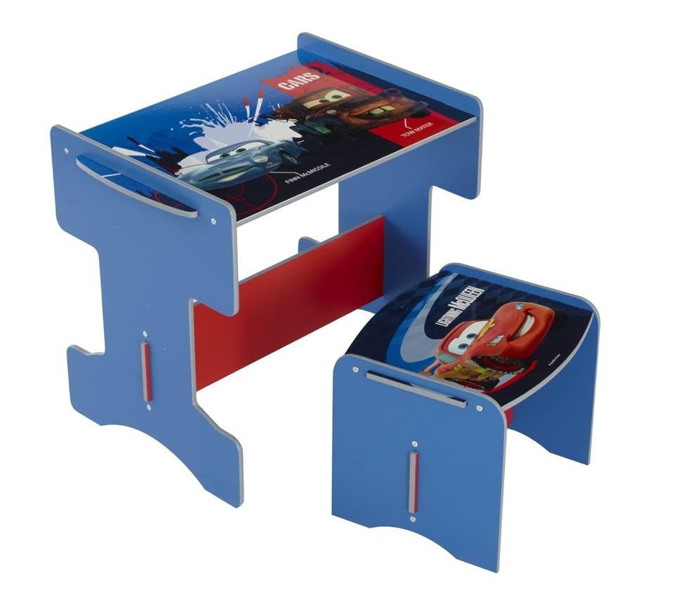 🚔 Autozimmer: Kleiner Kinderschreibtisch mit passendem Hocker und ...