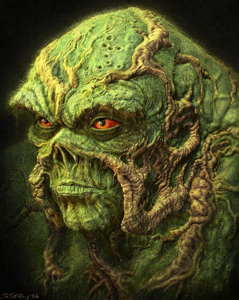 I want to own all that is swamp thing
