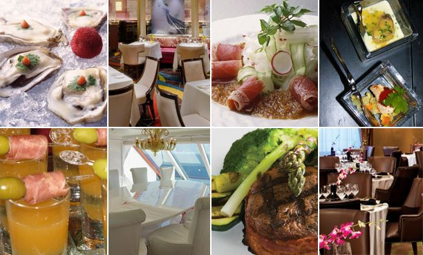 Cruise Ships With Five Star Dining From Crystal To Silversea These Cruise Lines Will Keep You From Ever Wanting Cruise Food Food Displays Best Cruise Ships