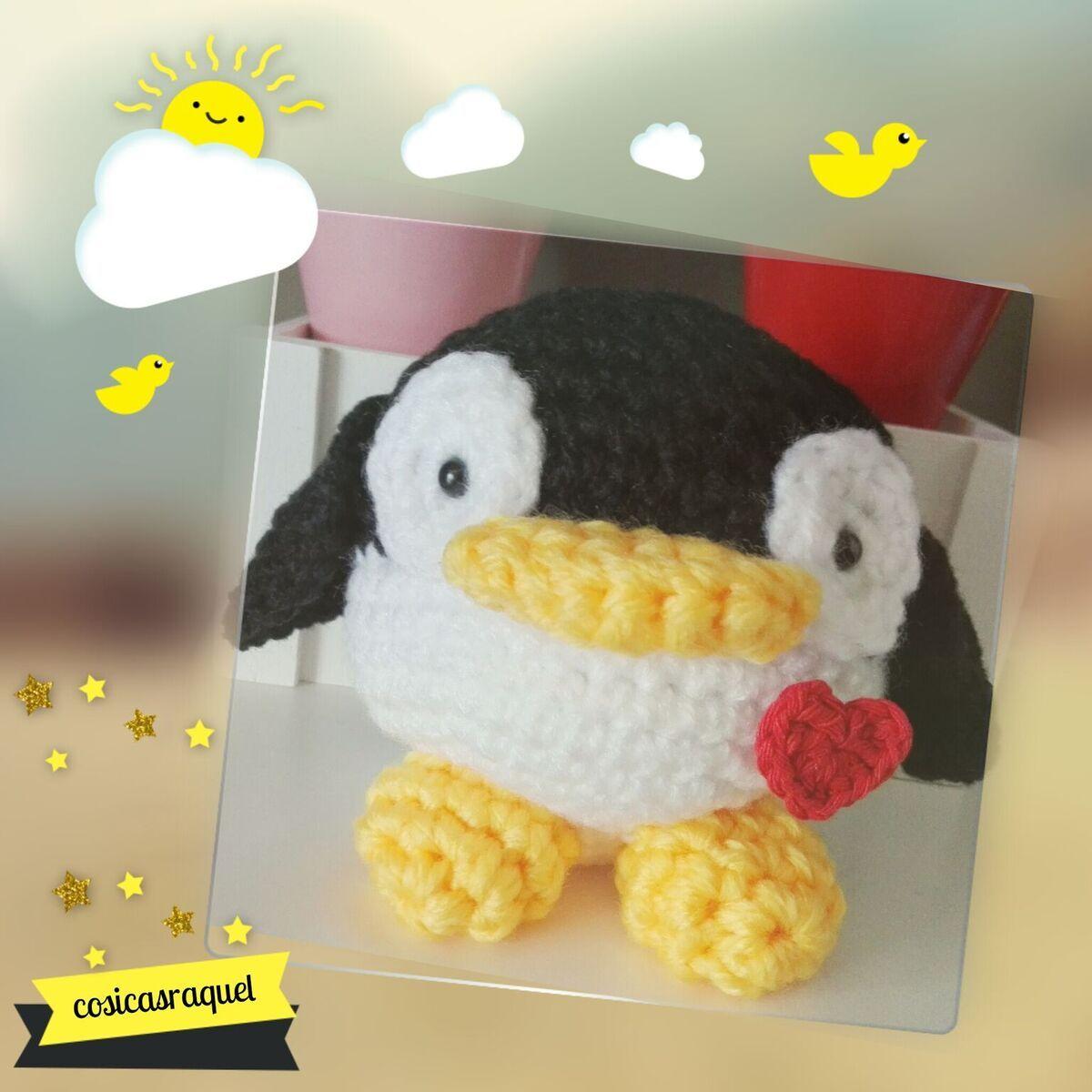 Patrón gratuito cosicasraquel: Pingüino Amigurumi   cosicasraquel ...