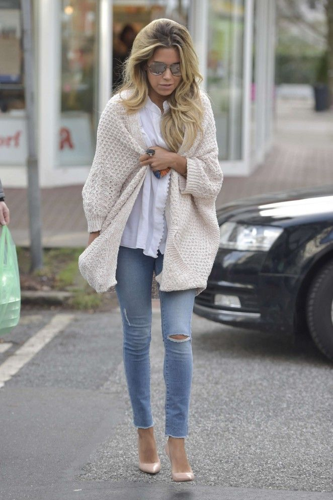 Sylvie Meis in Tight Jeans out in Hamburg | My Style ...