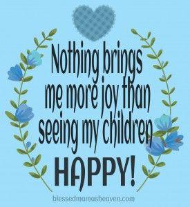 Nothing Brings Me More Joy Than Seeing My Children Happy Lღve