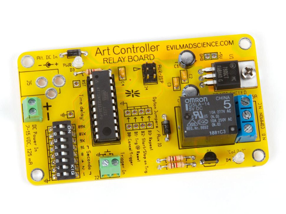 Art Controller Relay Board Kit | Kits & Projects