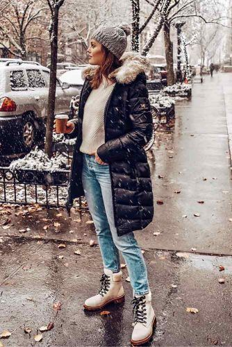 Snow Boots Outfits: Key Styles for the Winter ★ See more: g