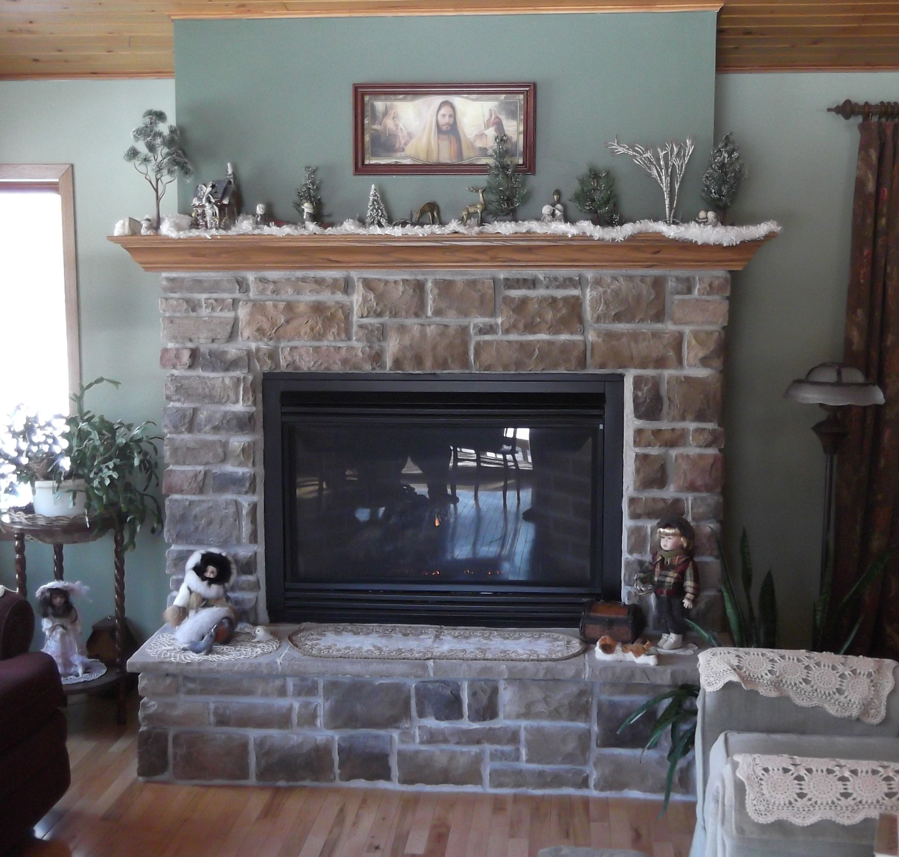 Luxury Brown Fireplace Mantel Design Inspiration With Silver