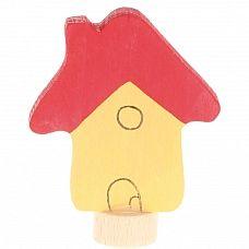 Steker geel huisje van Grimm's, Decoratie/ seizoenstafel