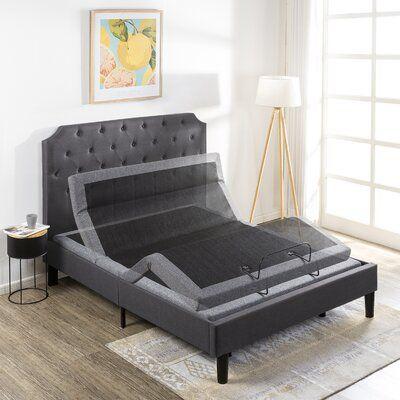 Latitude Run Dockside Mellow Adjustable Bed Base In 2020