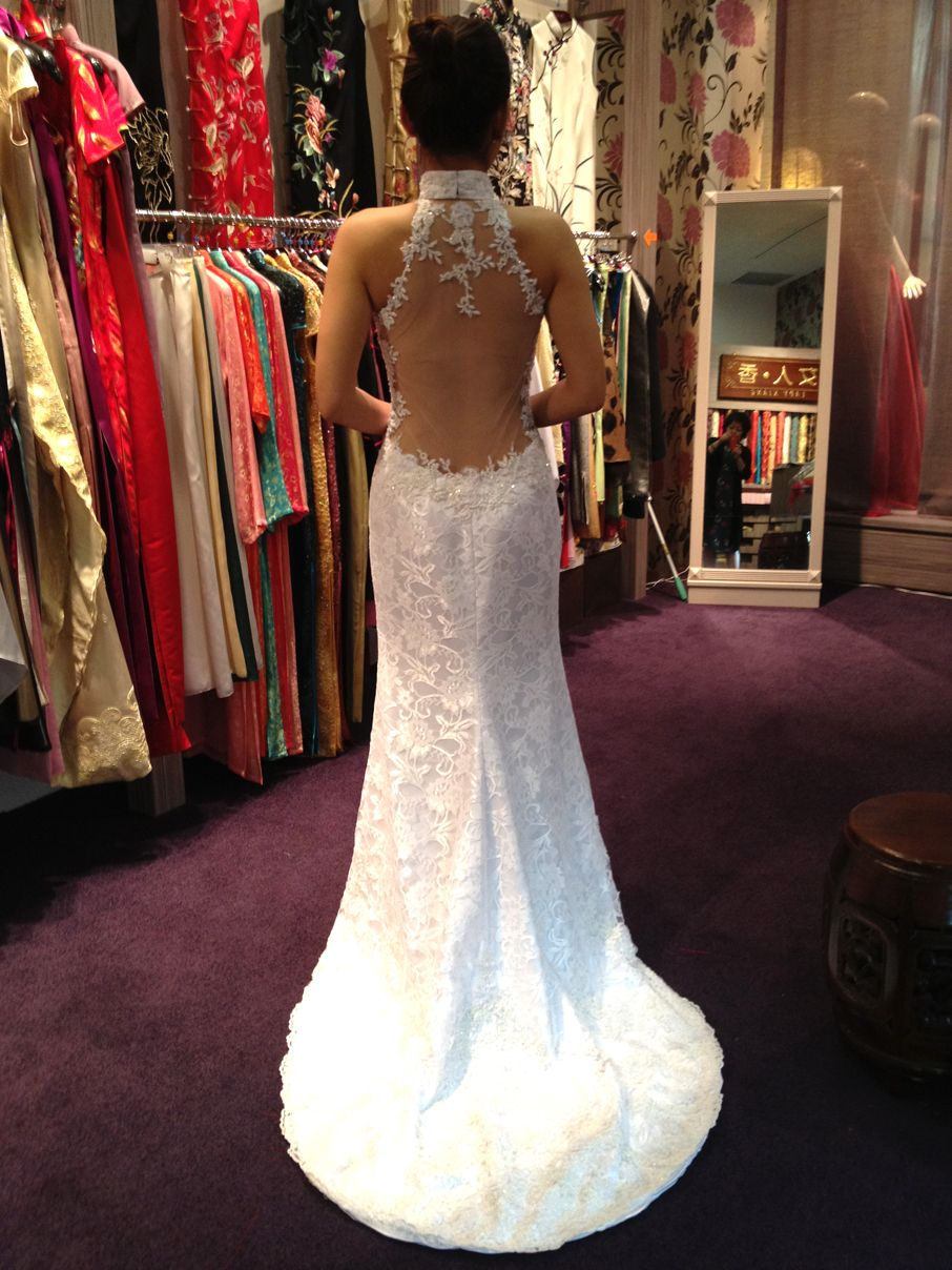 Omgomgomg The Perfect Dress For A Chinese American Wedding