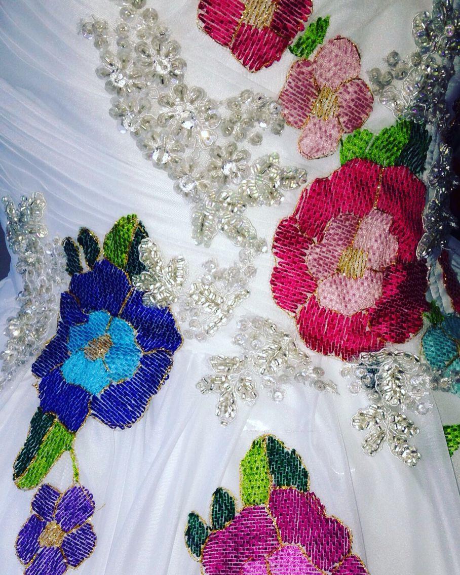 Vestidos de novia bordados de chiapas