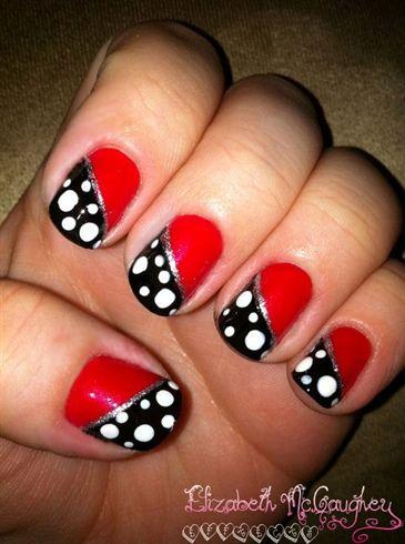 Ladybug Mani I Feel Pretty Pinterest Makeup