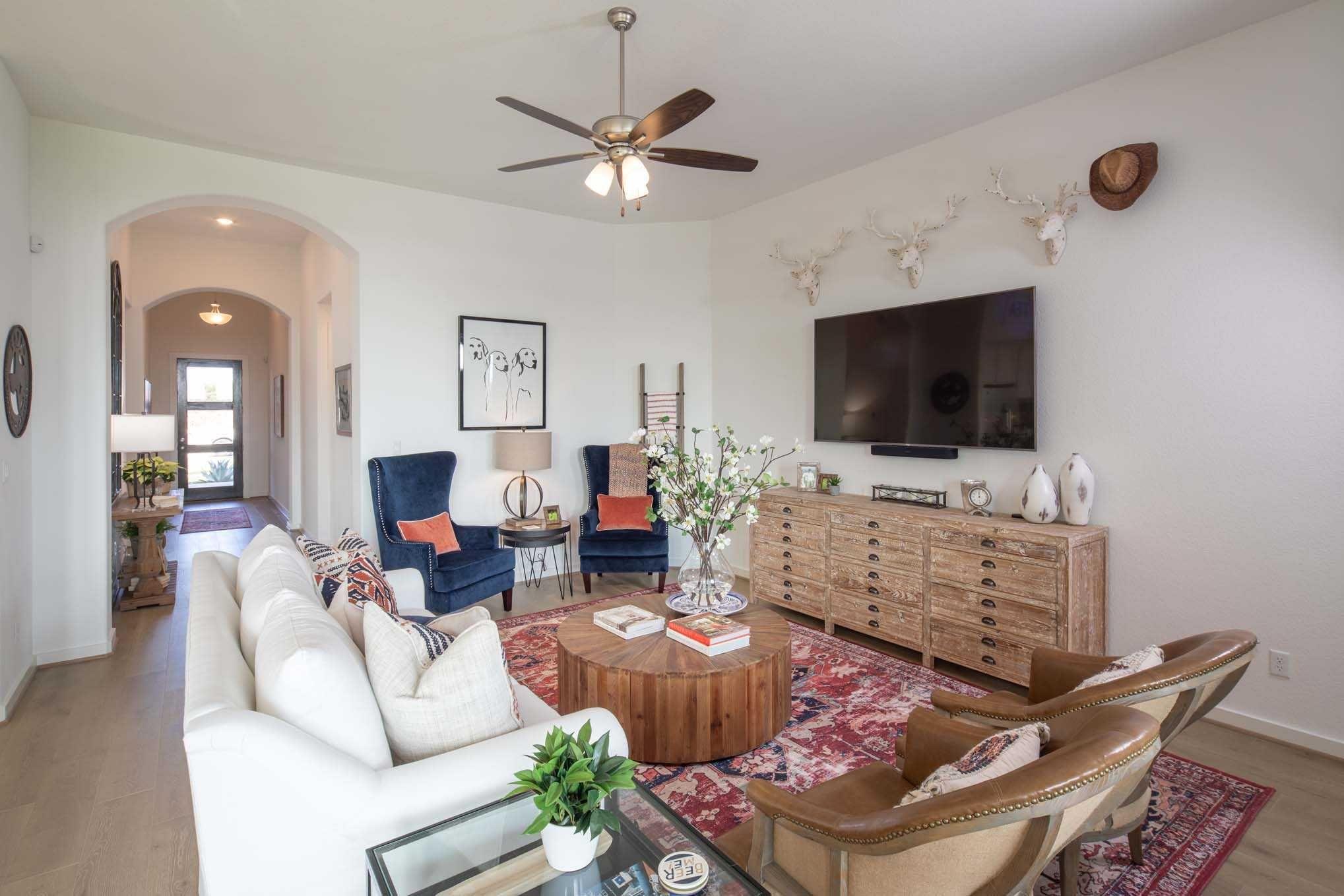 Highland Homes Plan Amberley Austin, TX La Cima