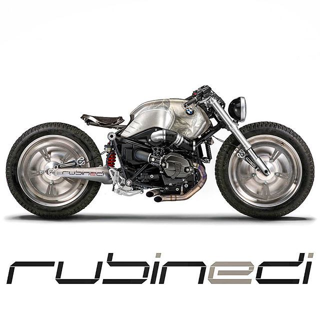 BMW R nineT Custom by Rubinedi design #custommotorcycles #motoscustom | caferacerpasion.com