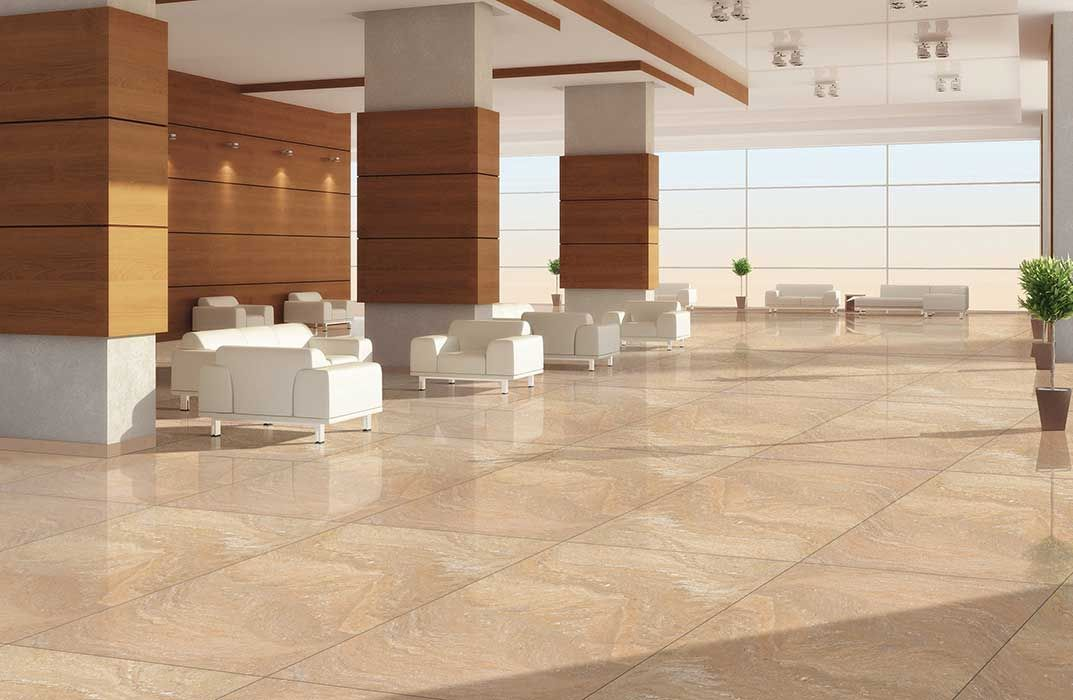 Porcelain tiles basically processed with high quality of resistance of chemicals, resistance of water staining, with mechanical Killen and high technology instruments.