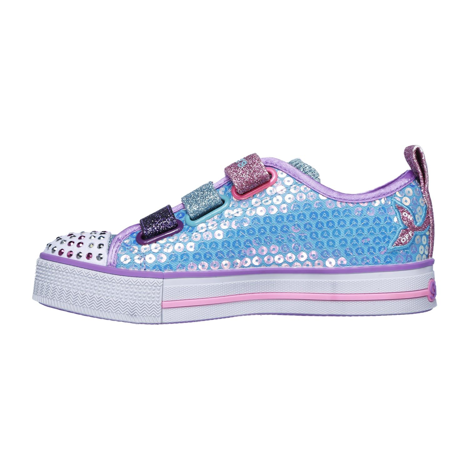 9f64549f8296c Skechers Twinkle Toes Twinkle Lite Mermaid Magic Girls' Light Up Shoes #Toes,  #Lite, #Skechers, #Twinkle