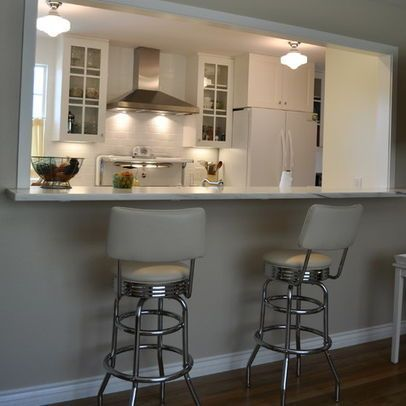 SAME CONCEPT BUT HATE THISImage Result For OPEN Galley Kitchen RemodelGalley