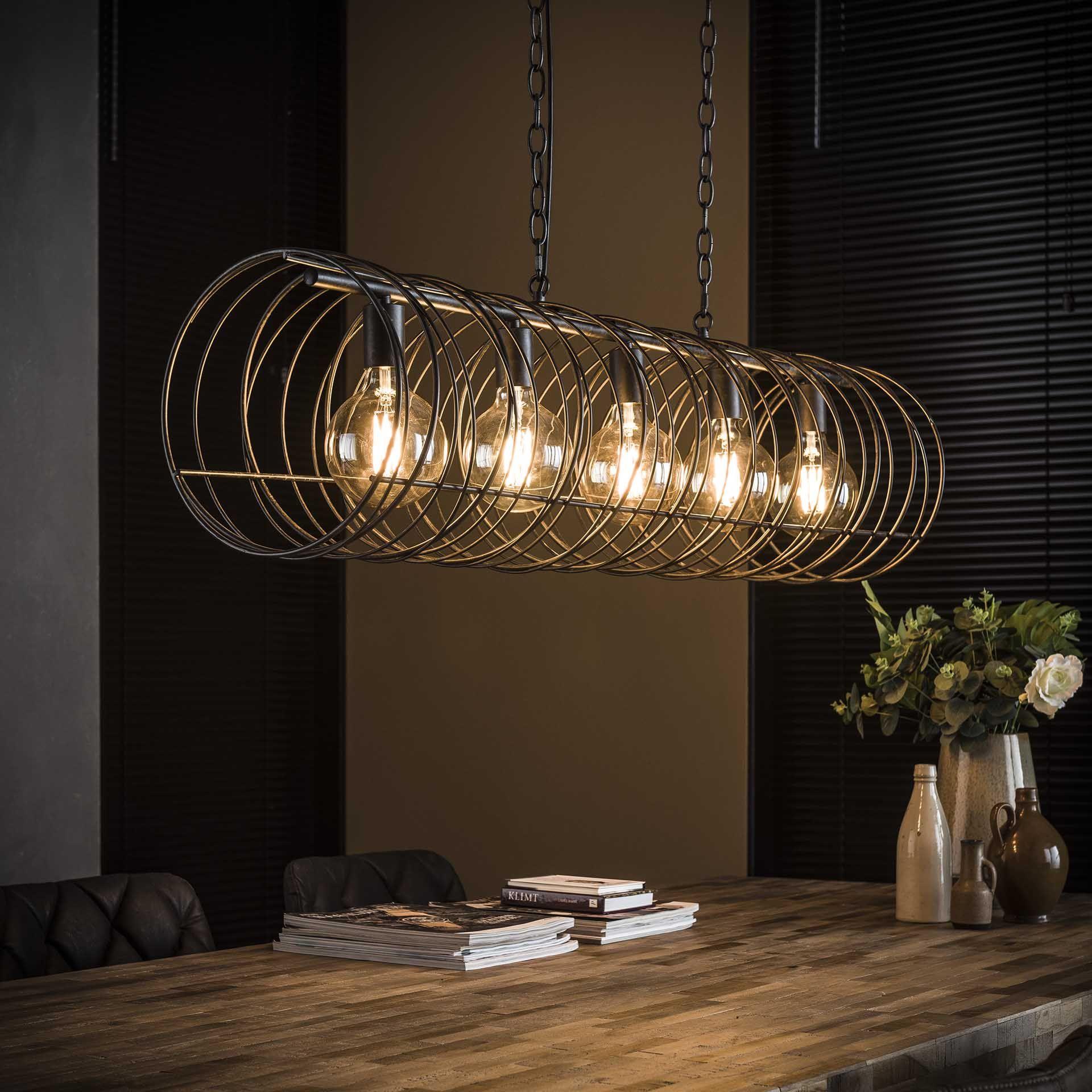 Hangelampe Spiral Beleuchtung Decke Pendelleuchte Industrie Stil Lampen