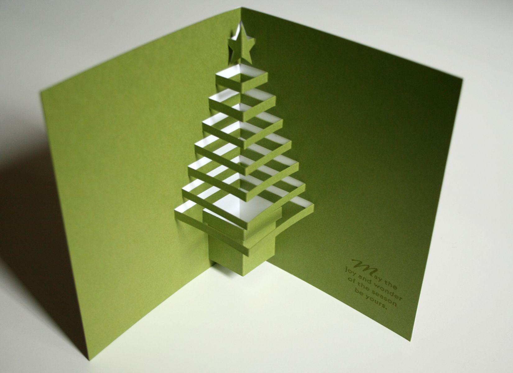 открытка с елкой внутри своими руками фото этот