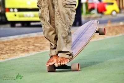 60 POLEGADAS: Longboard skate - Classic Ride y Mucho Flow: Ten Piggies Over!