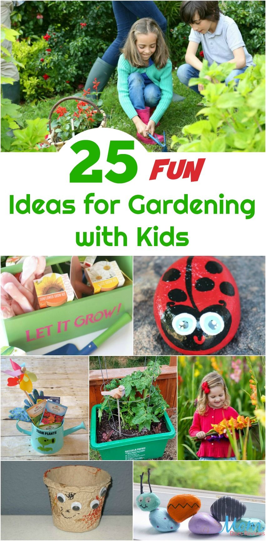25 Fun Ideas For Gardening With Kids To Spark Their Interest