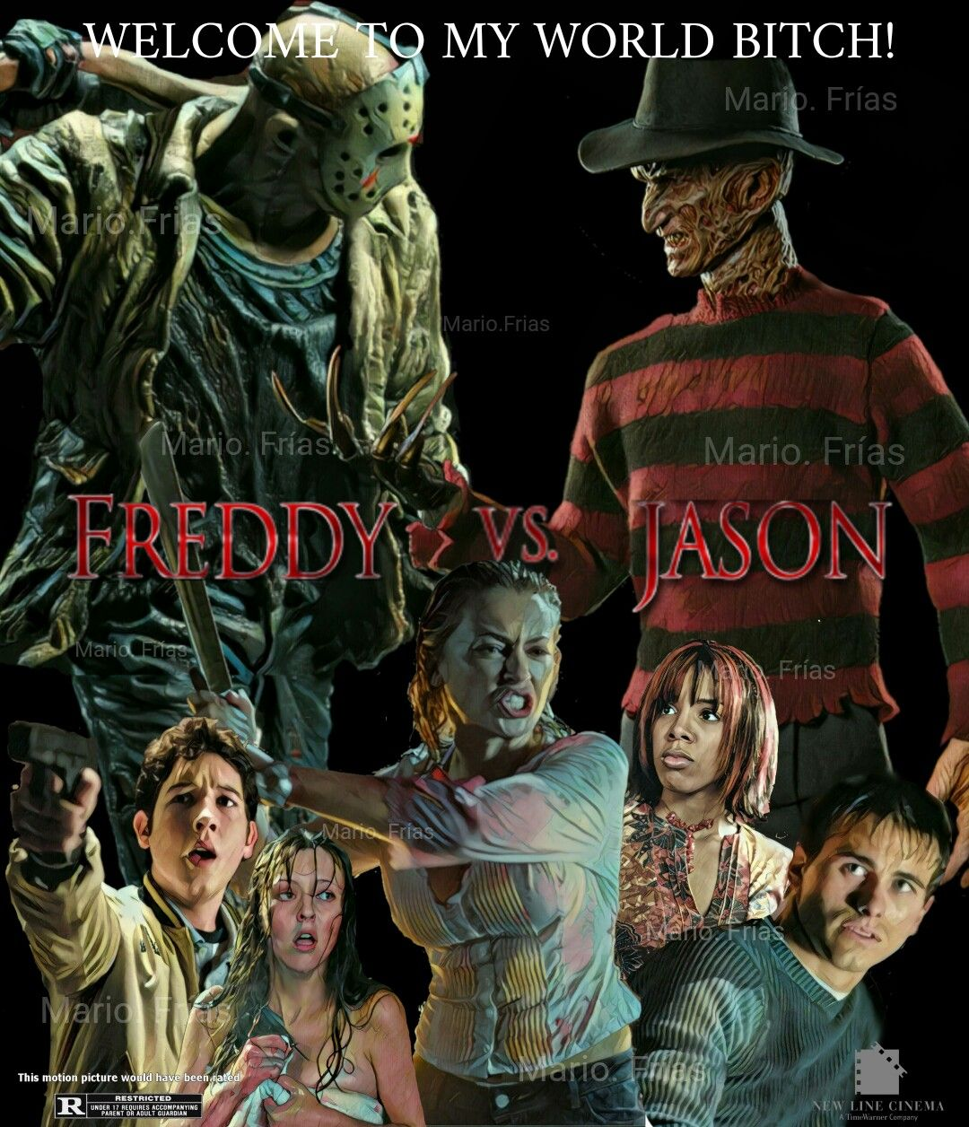 freddy vs jason horror movie slasher fan made by mario fr iacute as freddy vs jason 2003 horror movie slasher fan made by mario friacuteas